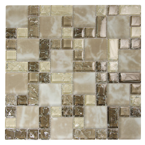 French Pattern Crius 3 Mosaic Glass Tile