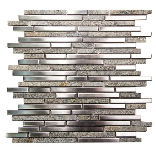 Hebe 007 Mosaic Metal Tile