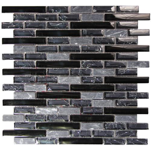 Selene 7 Mosaic Glass Tile