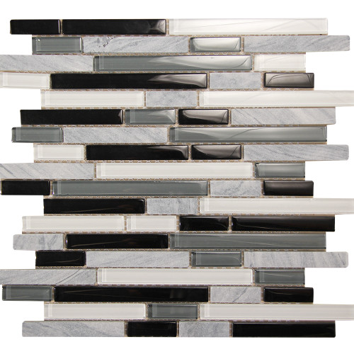 Selene 11 Mosaic Glass Tile