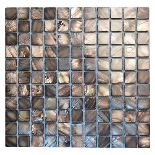 Shell Coffee Mosaic Tile