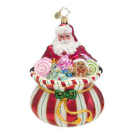 Christopher Radko's Sweet Tooth Santa