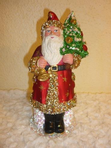 Schaller Santa in red coat