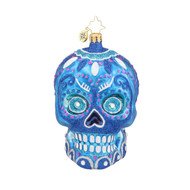 Christopher Radko La Calavera Blue