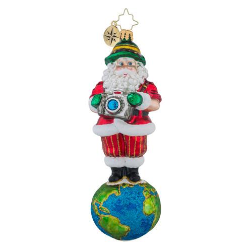 Christopher Radko Shutterbug Santa