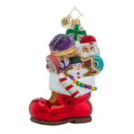Christopher Radko Sugar Boot Stack