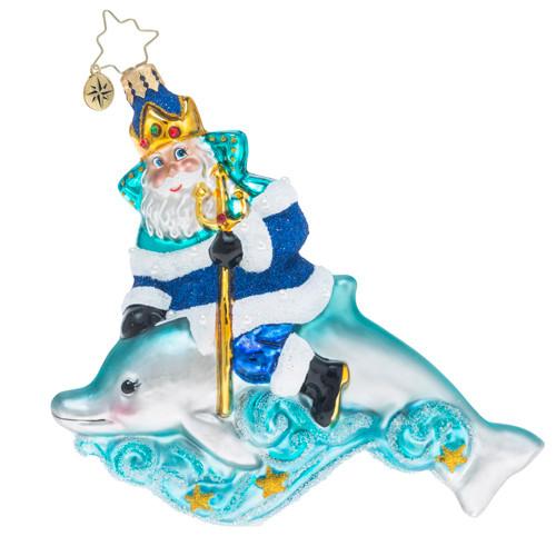 Christopher Radko King of the Sea