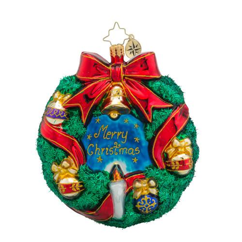 Christopher Radko Merry Christmas