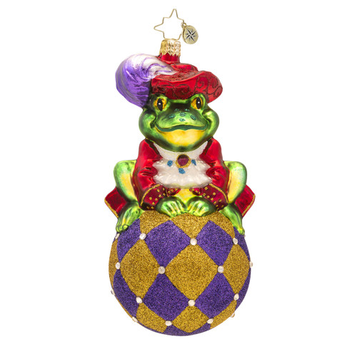 Christopher Radko's Prince Ribbit