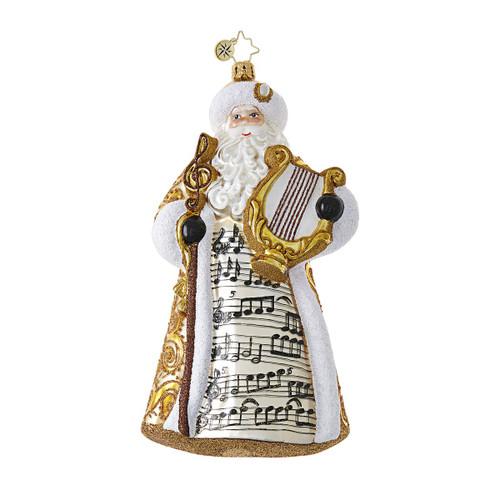 Christopher Radko Song of Saint Nick!