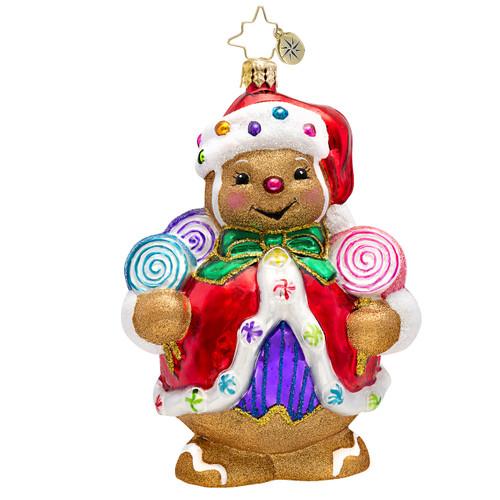 Christopher Radko's Ginger Sweet Claus