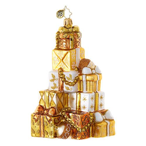Christopher Radko Golden Gift Mountain