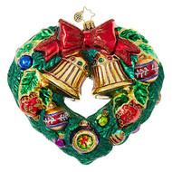 Christopher Radko Heart-Shaped Wreath