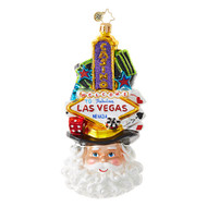 Christopher Radko Viva Las, Vegas!