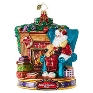 Christopher Radko Ornament of the Month Fireside Party Planning