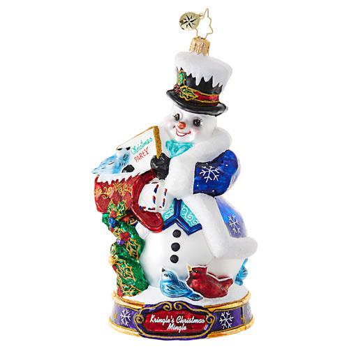 Christopher Radko Ornament of the Month I'm Invited!