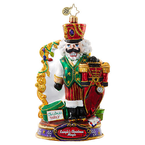 Christopher Radko Ornament of the Month What Should I Wear?