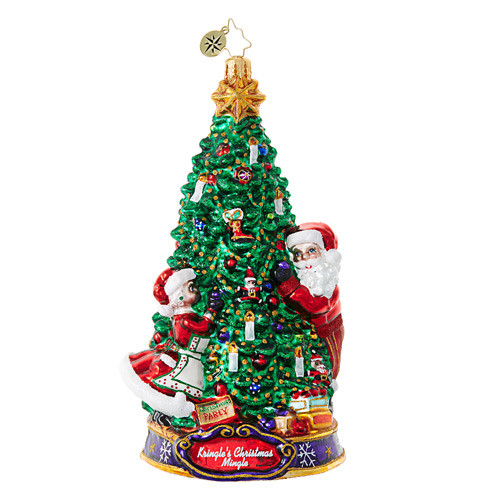 Christopher Radko Ornament of the Month Deck the Halls!