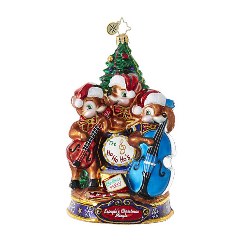 Christopher Radko Ornament of the Month Play Our Favorite Song!
