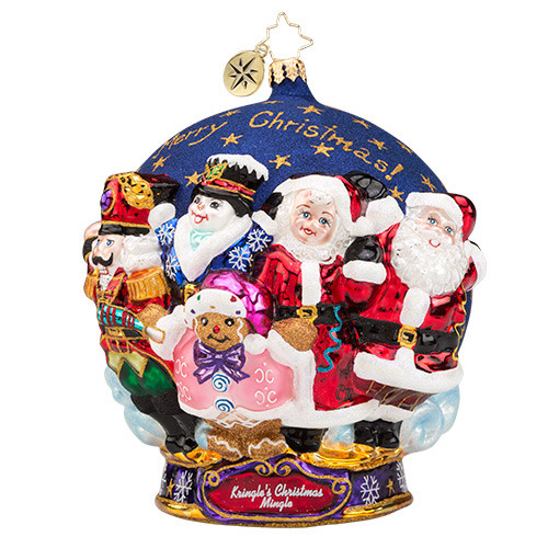 Christopher Radko Ornament of the Month Merry Christmas To All!