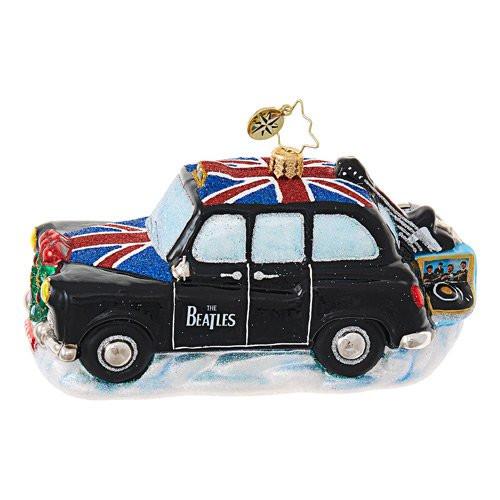 Christopher Radko Beatles Instruments Cab
