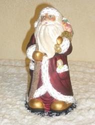 Ino Schaller Santa in Burgundy