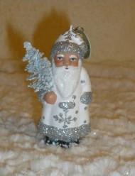 Ino Schaller Santa Ornament