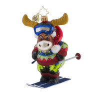 Christopher Radko Moose On The Loose! -front