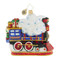 Christopher Radko Ornament of the Month 2018 A Christmas to Remember collection Arriving On Time - back
