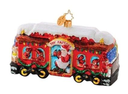 Christopher Radko's Christmas Carriage