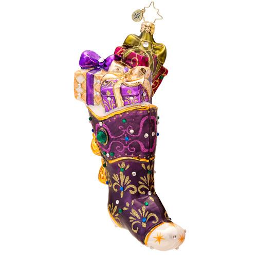 Christopher Radko's Shimmering Santa Luxe ornament
