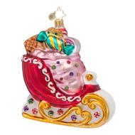 Christopher Radko's Sugar Sweet Sleigh Ride