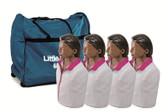Little Anne Four Pack, Brown Skin