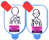 Defibtech Pediatric Training Pads (Set of 5, Pads Only)