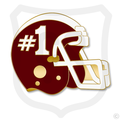 #1 (Football Helmet)