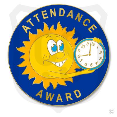 Attendance Award Sun/Clock