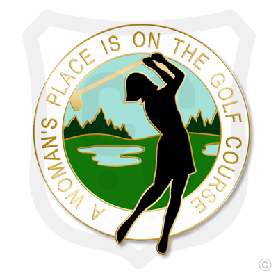 A Woman's Place is on the Golf Course