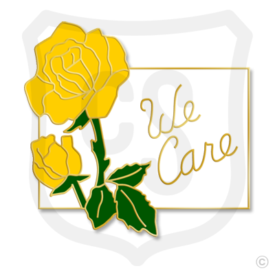 We Care (Yellow Rose)