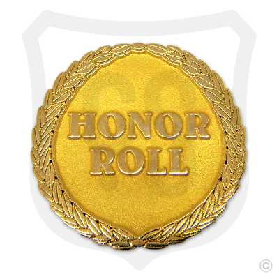 Honor Roll w/ Laurel Wreath