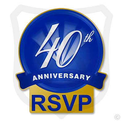 40th Anniversary RSVP