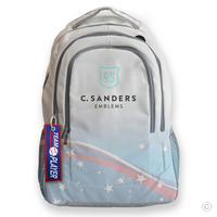 Team Player Bag Tag on Backpack