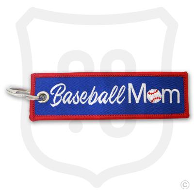 Baseball Mom Bag Tag