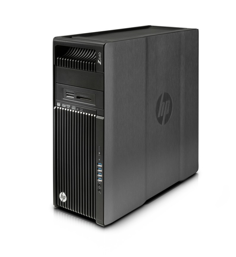 HP z640 W10P-64 X E5-1630 v4 3.7GHz 256GB SSD 1TB SATA 16GB(2x8GB) DDR4 DVDRW Graphics-Less Rfrbd WS