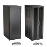 "Black Box Elite Server Cabinet, 79""H (42U) x 30""W x 42""D, M6 Rails, Mesh Front D EC42U3042SMMSMNK"