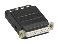 Black Box Async RS232 to CurrentLoop Interface Converter DB25-Terminal Block CL412A-F