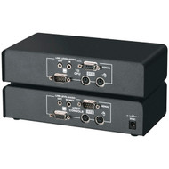 Black Box ServSwitch CAT5 KVM Extender with Serial Extension and Stereo Audio Su ACU1022A