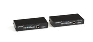 Black Box KVM Extender, VGA, PS/2 with Built in KVM Switch, CATx ACU1049A