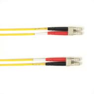 Black Box 1m (3.2ft) LCLC YL OM2 MM Fiber Patch Cable INDR Zip OFNP FOCMP50-001M-LCLC-YL