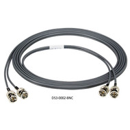 Black Box 2-ft. DS3 Dual Coax Cable BNC, Male/Male DS3-0002-BNC
