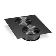 "Black Box Dual 10"" Fan (1100-cfm) Top Panel for Elite Cabinets ECTOP2F10"